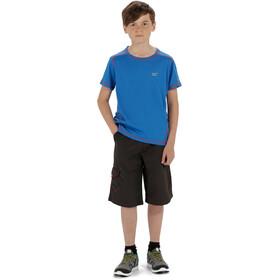 Regatta Dazzler T-Shirt Kids Skydiver Blue Reflective/Skydiver Blue